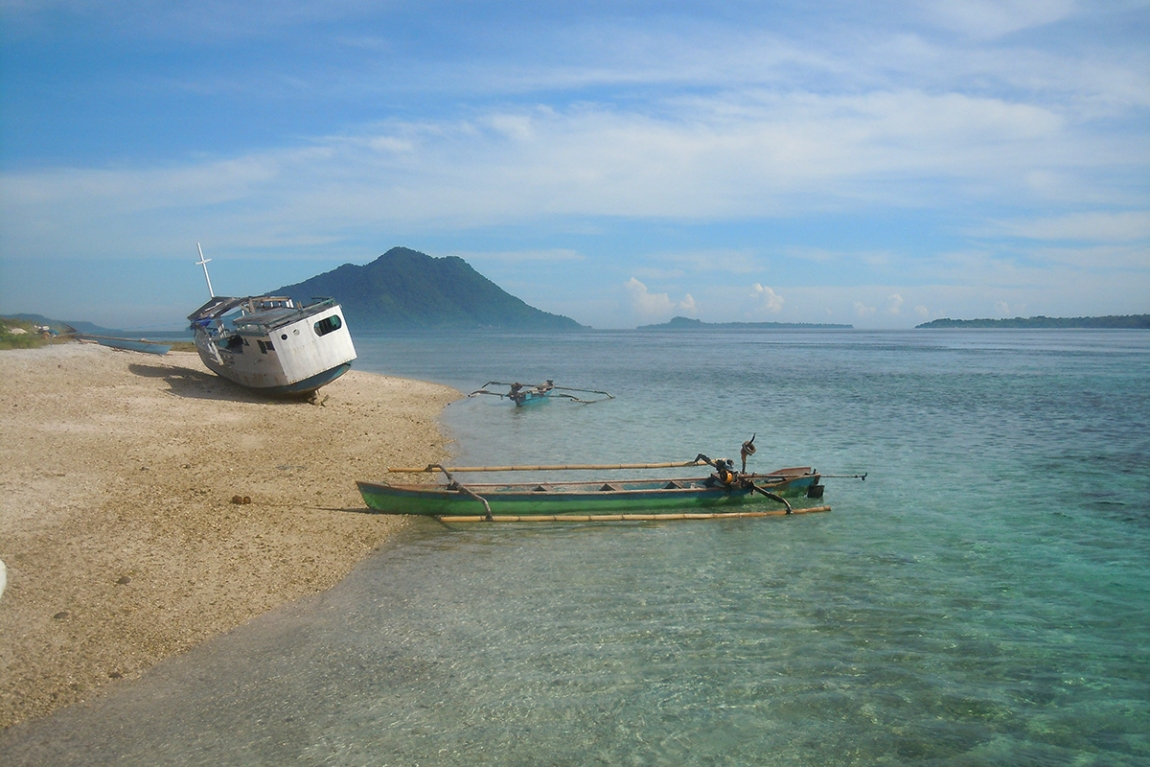 Alor Strait is a stunning landscape of volcanic islands and one of the best diving destinations in Asia