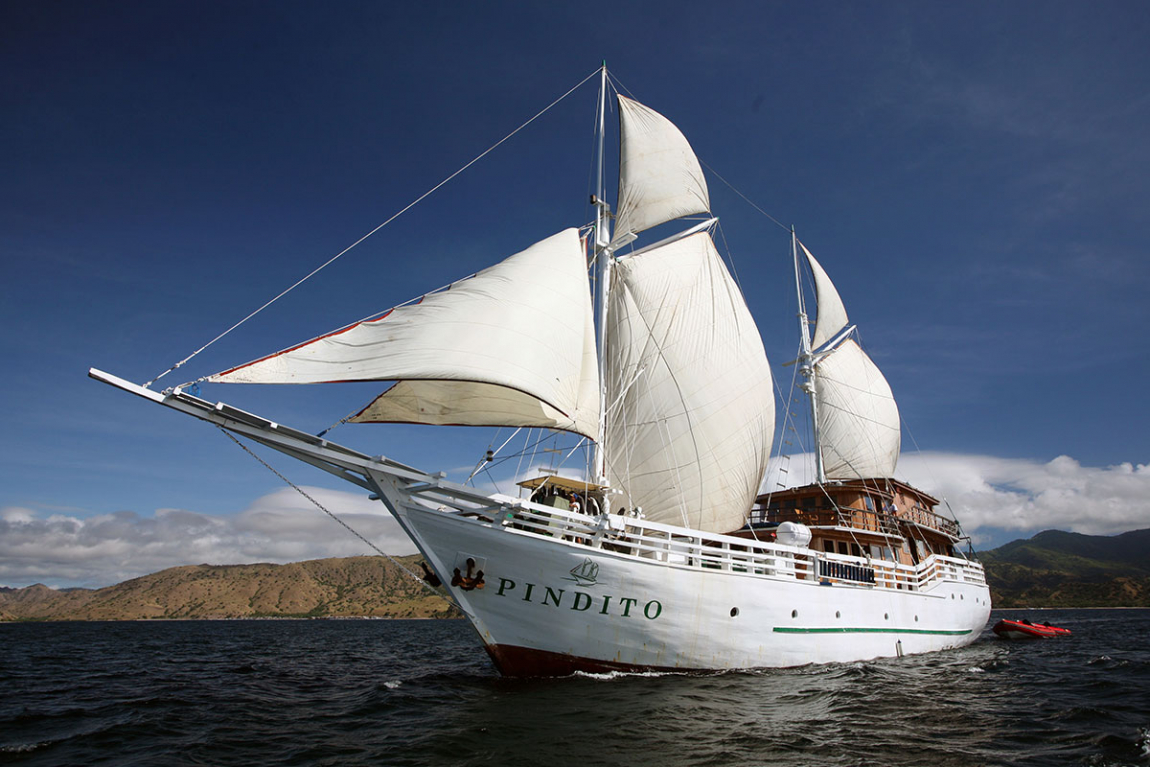 Pindito Liveaboard exceptional diving holidays in the best dive spots of Indonesia