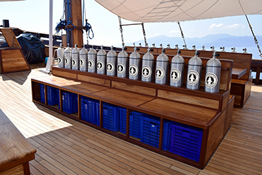 Samambaia_Liveaboard_dive_deck_14_divers_emplacement
