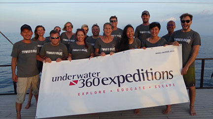 Samambaia Liveaboard and 2016 UW 360 Expedition