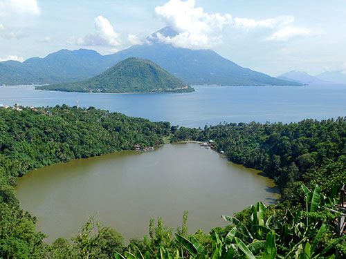 View of Tidore from Ternate