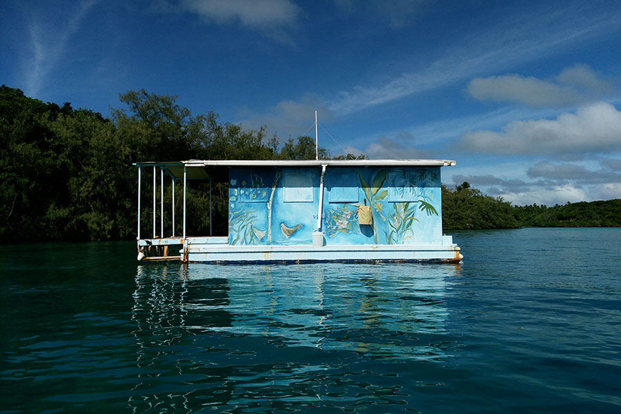 Boat house in Tonga