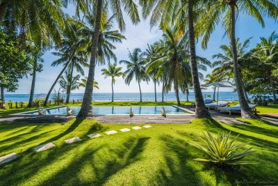 Bali Oceanfront Villa for Lease or Sale