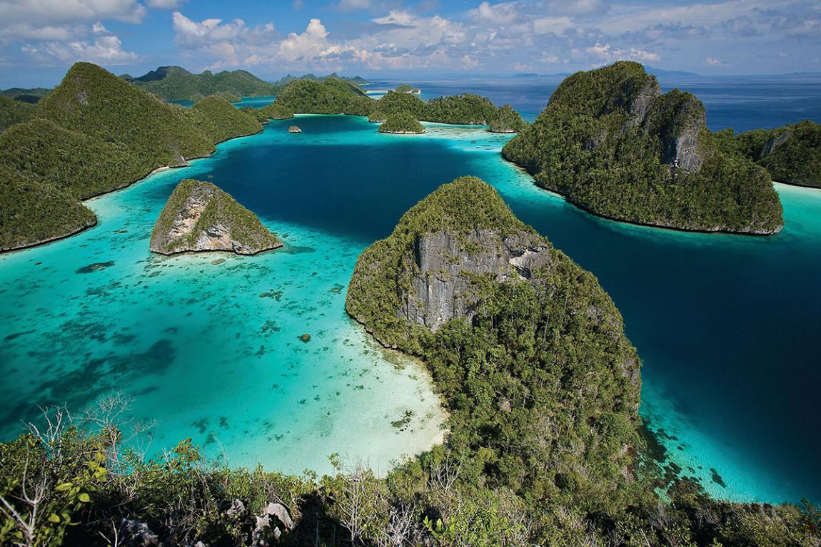 Raja Ampat in West Papua